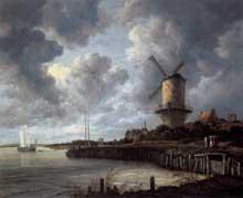 Jacob Ruijsdael: le moulin de Wijck bij Duursteede. Huile sur toile, 83 x 101 cm. Amsterdam, Rijksmuseum