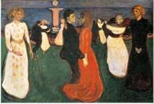 Munch Edward: la danse. 1899-1900. Huile sur toile