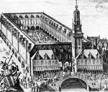 Hendrick de Keyser (1567-1621): la bourse d