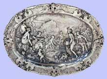 Paulus van Vianen: Diane et Actéon. 1613. Amsterdam, Rijskmuseum