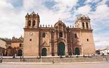 Cuzco au Pérou: la cathédrale
