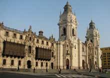 Lima au Pérou: la cathédrale