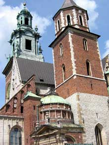 Cracovie : la cathédrale de Wawel