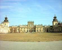 Varsovie: le château de Wilanow