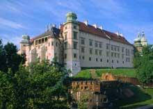 Cracovie: le château Wawel