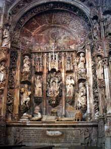 Nicolas Chanterène: tombe d'Alphonse I du Portugal. Coïmbra, monastère de Santa Cruz