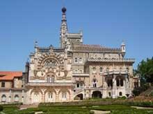 Aveiro: palais Bussaco