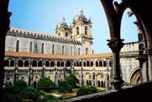 Alcobaça: vue générale du monastère