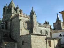 Evora, la cathédrale