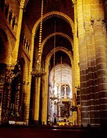 Evora, la cathédrale. La nef