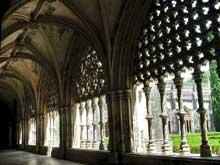 Batalha: le monastère Santa Maria da Vitoria: le cloître de Joao I. (Histoire de l'art - Quattrocento