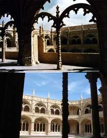 Diégo Boytac (1460-1528): monastère des Hiéronymites à Belem, 1502-1521. (Histoire de l'art - Quattrocento