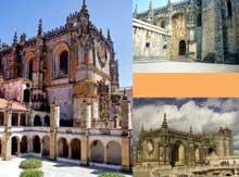 Tomar: le monastère du Christ du château: un pur joyau du style manuélien. (Histoire de l'art - Quattrocento