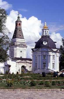La Lavra de la Trinité Saint Serge à Sergei Possad