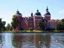 Suède: le château de Gripsholm